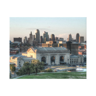 Kansas City Union Station during the day Canvas Print