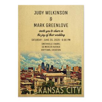 Kansas City Wedding Invitation Missouri