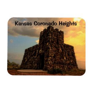 Kansas Coronado Heights Castle Magnet