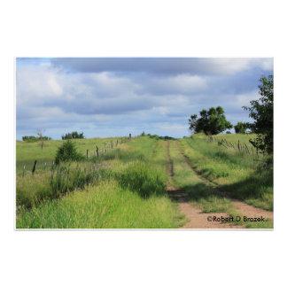 Kansas Country Road Photo Enlargement