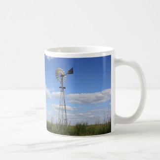 KANSAS Country Windmill Coffee Mug