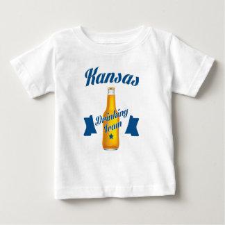 Kansas Drinking team Baby T-Shirt