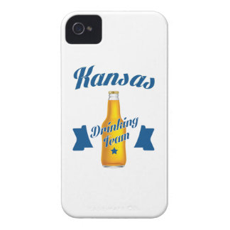 Kansas Drinking team Case-Mate iPhone 4 Cases