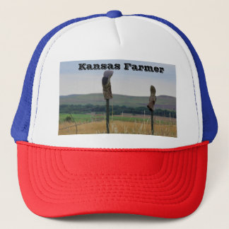 Kansas Farmer Truckers Hat