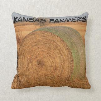 Kansas Farmers Square Pillow