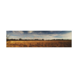 Kansas Fields Gallery Wrapped Canvas