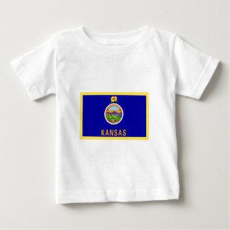 Kansas Flag Baby T-Shirt