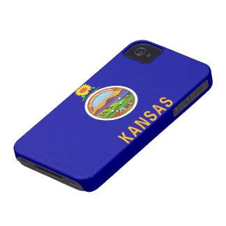 Kansas Flag iPhone 4 Cases