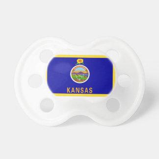 Kansas Flag Pacifier