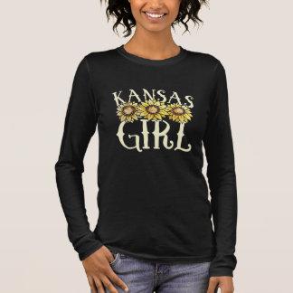 kansas girl long sleeve T-Shirt