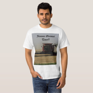 Kansas Harvest Time T-Shirt