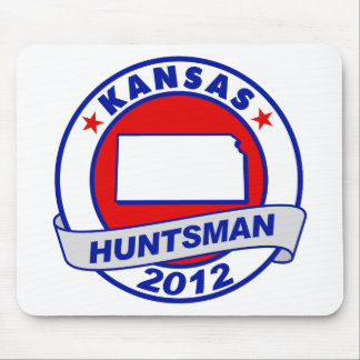 Kansas Jon Huntsman Mouse Pad
