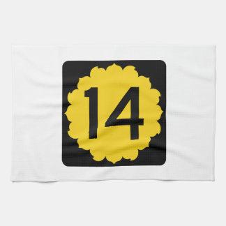Kansas K-14 Hand Towel