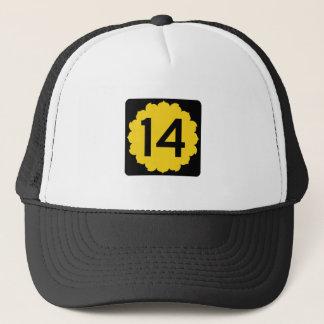 Kansas K-14 Trucker Hat