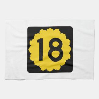 Kansas K-18 Towels