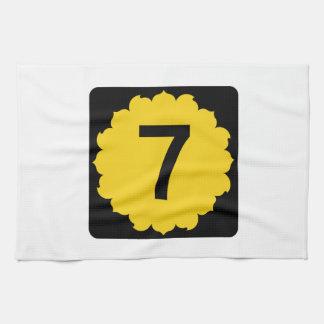 Kansas K-7 Hand Towels
