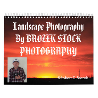 Kansas Landscape Photography CALENDAR