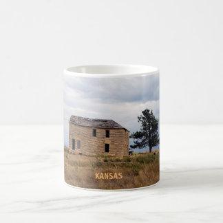 Kansas Limestone Farm House Mug