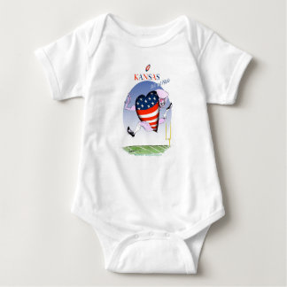 kansas loud and proud, tony fernandes baby bodysuit