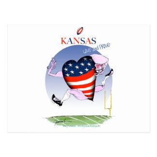 kansas loud and proud, tony fernandes postcard