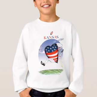 kansas loud and proud, tony fernandes sweatshirt