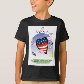 kansas loud and proud, tony fernandes T-Shirt