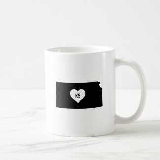 Kansas Love Coffee Mug