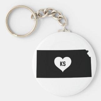 Kansas Love Keychain