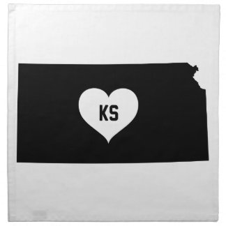 Kansas Love Napkin