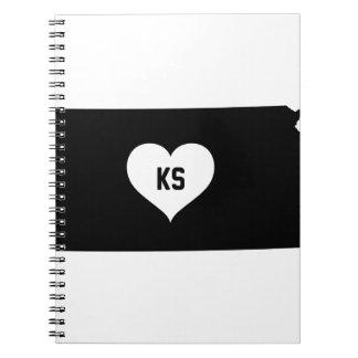 Kansas Love Notebooks