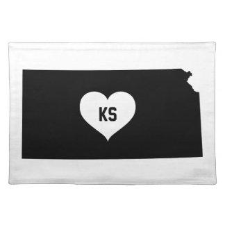 Kansas Love Placemat