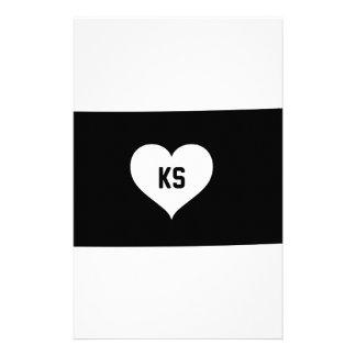 Kansas Love Stationery