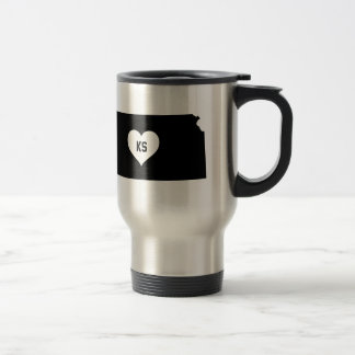 Kansas Love Travel Mug