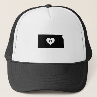 Kansas Love Trucker Hat