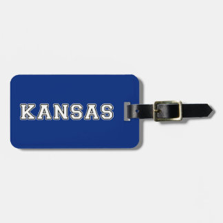 Kansas Luggage Tag