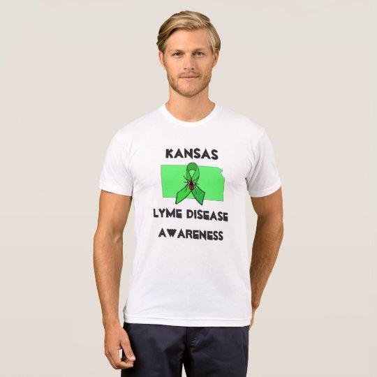 Kansas Lyme Disease Awareness Shirt