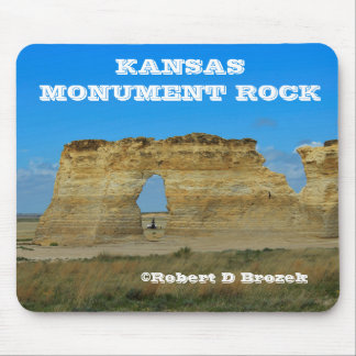 Kansas Monument Rock Mouse Pad