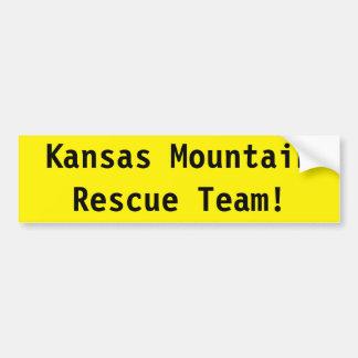 Kansas Mountain Rescue Team! Bumper Sticker