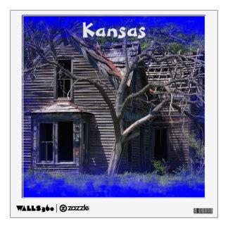 Kansas Old Farmhouse Wall Decal