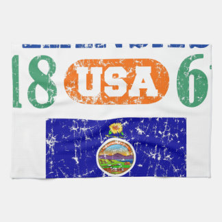 KANSAS PERFECT TOGETHER DISTRESSED PRODUCTS TOWEL