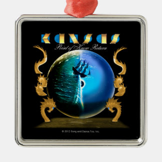 KANSAS - Point of Know Return (2007) Silver-Colored Square Ornament