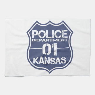 Kansas Police Department Shield 01 Towels