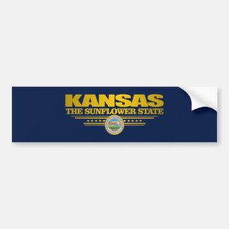 Kansas Pride Bumper Sticker