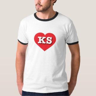 Kansas Red Heart - Big Love T-Shirt