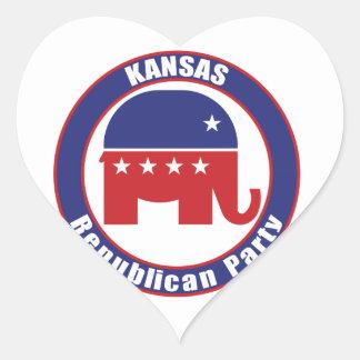 Kansas Republican Party Stickers