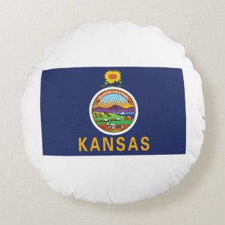 Kansas Round Pillow