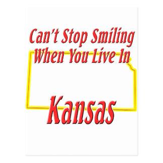 Kansas - Smiling Postcard