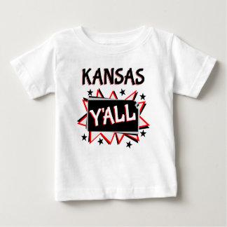 Kansas State Pride Y'all Baby T-Shirt