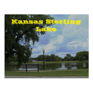 Kansas Sterling Lake POST CARD