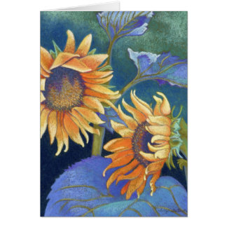 Kansas Suns Sunflowers Card